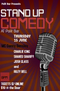 Copy of stand up comedy flyer template (2)