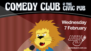 Comedy Club at The Civic Pub