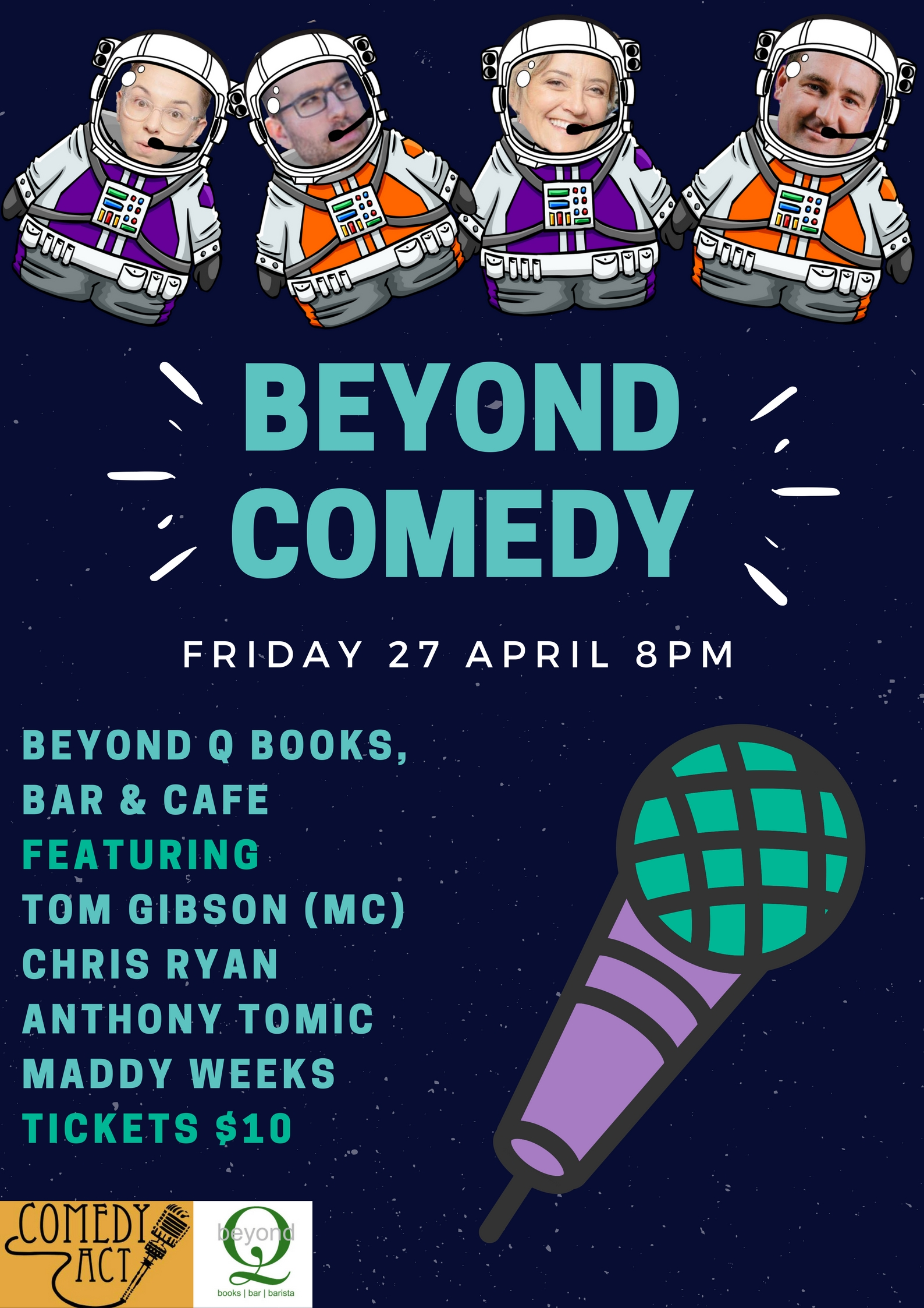 BEYOND COMEDY Poster