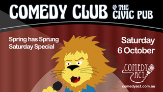 Comedy Club Saturday Special