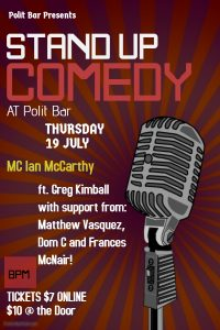 Copy of stand up comedy flyer template - Made with PosterMyWall (5)