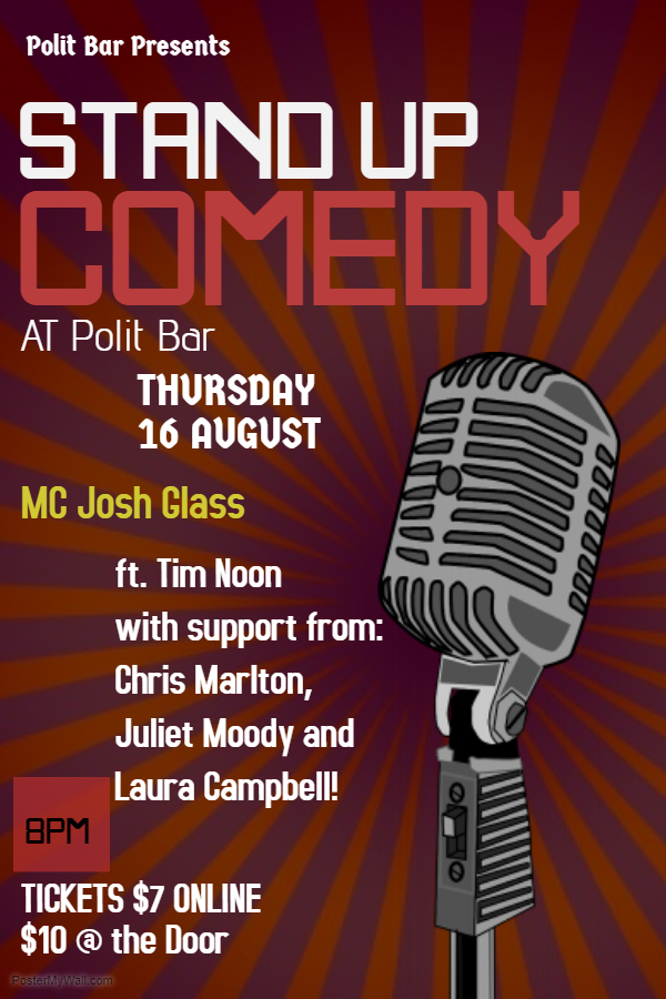 Copy of stand up comedy flyer template - Made with PosterMyWall (6)