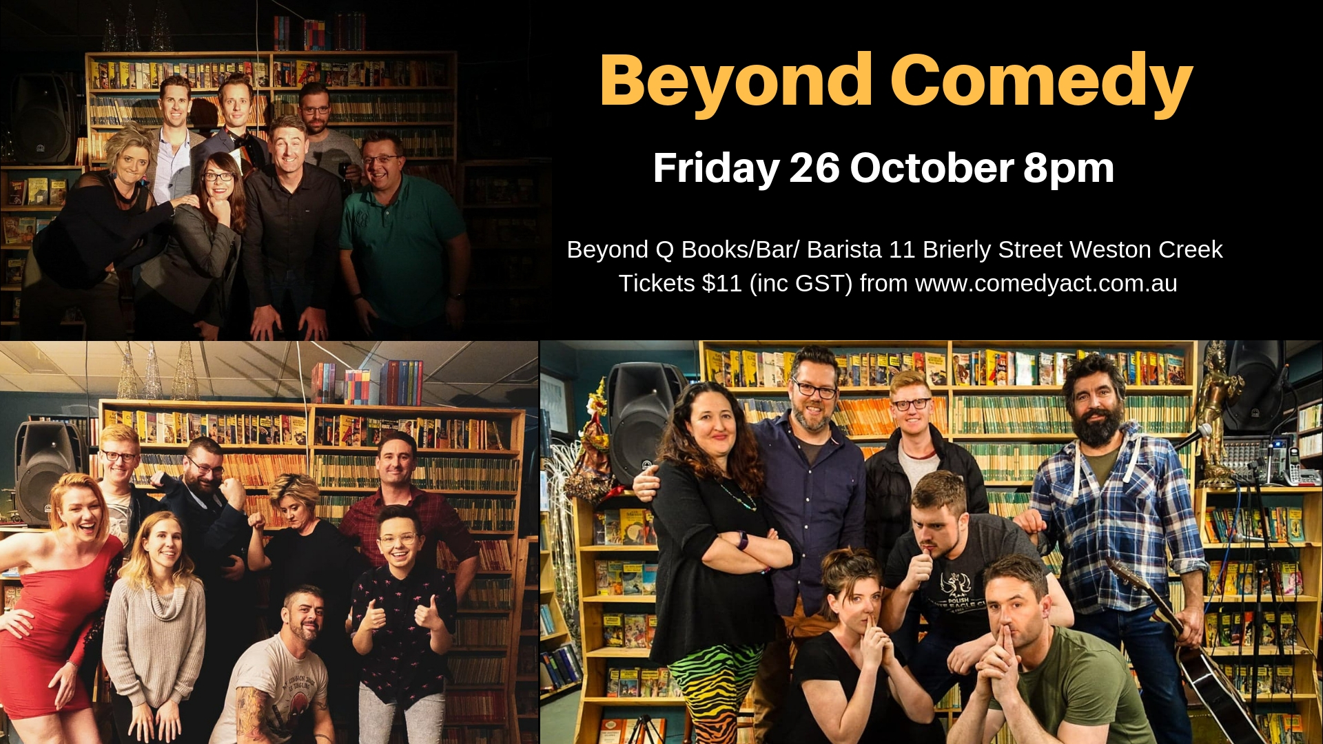 Beyond Comedy October