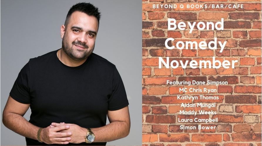 Beyond COmedy November featuring Dane Simpson