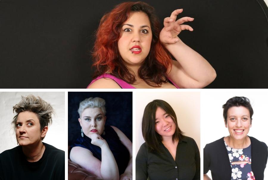 Steph Tisdell, Chris Ryan, Laura Campbell, Lauren Duong, Tanya Losanno.
