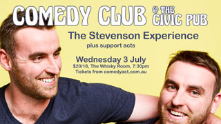 Comedy Club at The Civic Pub featuring The Stevenson Experience