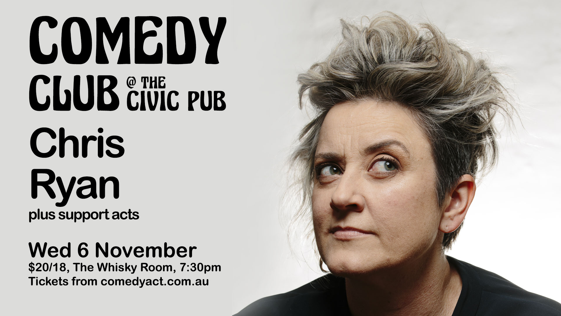 Comedy Club at The Civic Pub featuring Chris Ryan