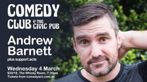 Comedy Club featuring Andrew Barnett