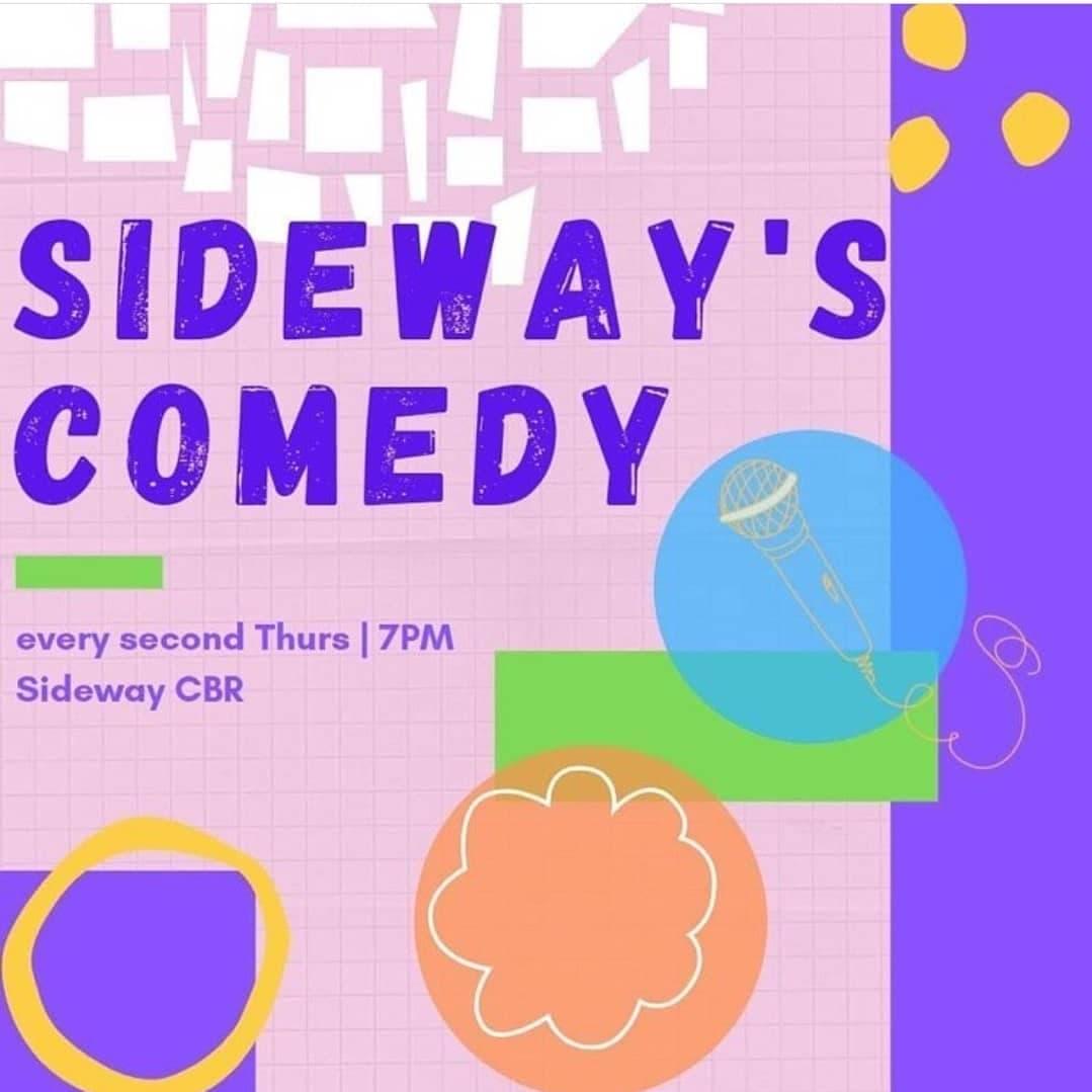 Sideway's Comedy artwork.