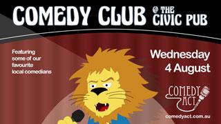 Comedy Club at The Civic Pub